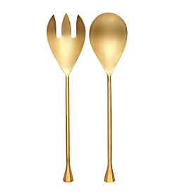 Thirstystone® Old Hollywood 2-pc. Goldtone Salad Servers