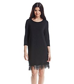 Kensie® Fringe Dress