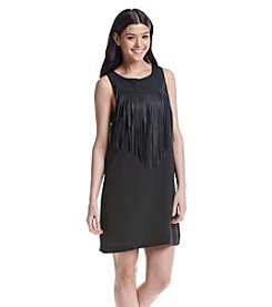 Kensie® Fringe Trim Dress