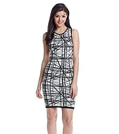 XOXO® Printed Midi Dress