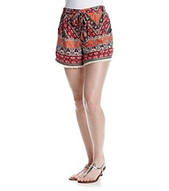 Sequin Hearts® Printed Soft Short