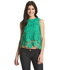 XOXO® Crochet Lace Tank