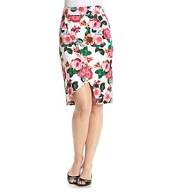 XOXO® Floral Wrap Skirt
