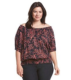 MICHAEL Michael Kors® Plus Size Solana Off Shoulder Top