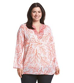 MICHAEL Michael Kors® Plus Size Solana Third Work Tunic