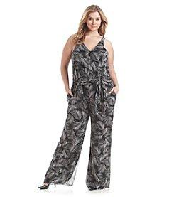 MICHAEL Michael Kors® Plus Size Mangonia Pleat Jumpsuit