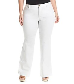 MICHAEL Michael Kors® Plus Size Denim Selma Flare Jeans