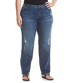 MICHAEL Michael Kors® Plus Size Distressed Dillon Jeans