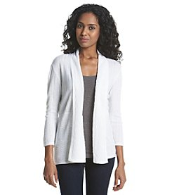 Notations® Solid Cardigan Sweater