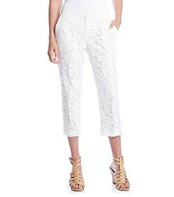 Karen Kane® Lace Crop Pants