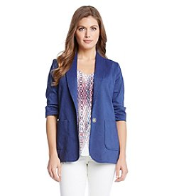 Karen Kane® One Button Blazer