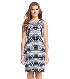 Karen Kane® Knit Jacquard Dress