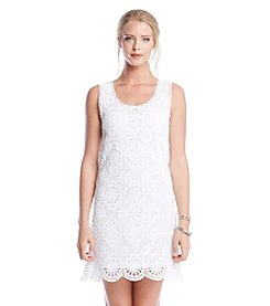 Karen Kane® Crochet Lace Dress