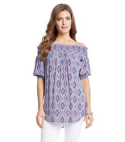 Karen Kane® Bandana Off The Shoulder Top
