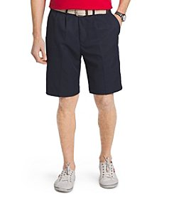 Izod® Men's Pleated Microfiber Shorts