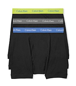 Calvin Klein Men's Color Band Cotton Stretch Boxer Briefs
