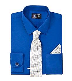 Alexander Julian® Men's 5-Piece Regular Fit Dress Shirt & Tie Set