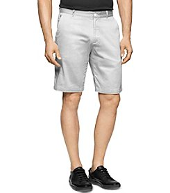 Calvin Klein Men's Geo Weave Print Stretch Sateen Shorts