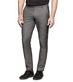 Calvin Klein Men's Slim Dress Cargo Pants