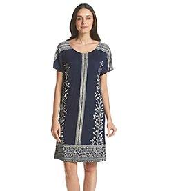 Lucky Brand® Bordered T-Shirt Dress