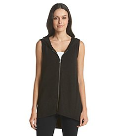 Cable & Gauge® High Low Hooded Vest