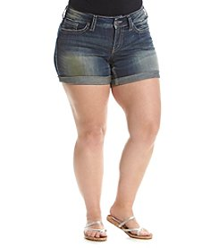 Silver Jeans Co. Plus Size Suki Mid Shorts