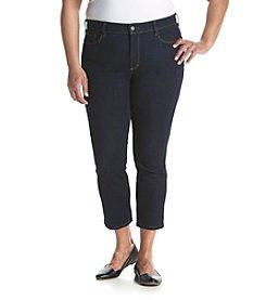 NYDJ® Plus Size Ira Slim Ankle Capri