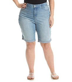 NYDJ&Reg; Plus Size Briella Shorts