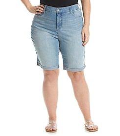 NYDJ&Reg; Plus Size Briella Shorts