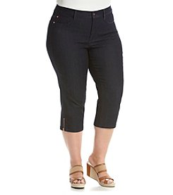 NYDJ® Plus Size Ariel Crop Pants
