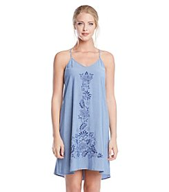 Karen Kane® Paisley Print T-Back Dress