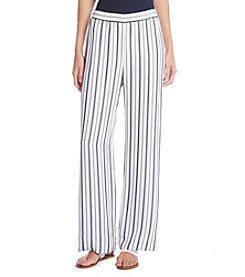 Karen Kane® Striped Wide Leg Pants