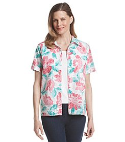 Alfred Dunner® Petites' Acapulco Floral Layered Look Top