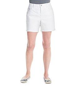 Gloria Vanderbilt Petites' Jacqueline Embellished Shorts
