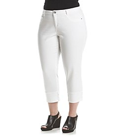 Ruff Hewn Plus Size Denim Crop Pants