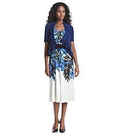 R&M Richards® Empire Bolero Jacket Dress