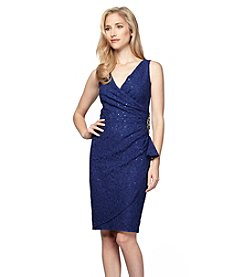 Alex Evenings® Sequin Ruched Dress