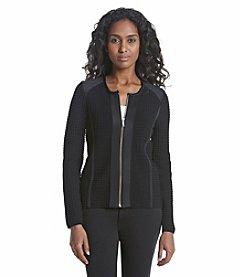 Calvin Klein Square Detail Sweater Jacket