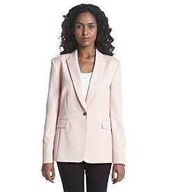 T Tahari® One Button Resort Blazer