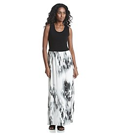 Calvin Klein Fading Print Maxi Dress