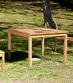 Southern Enterprise Eli Teak Dining Table