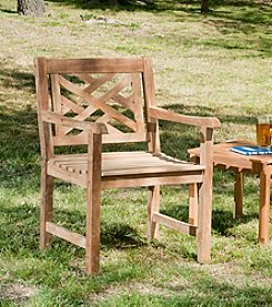 Southern Enterprise Judy Outdoor Arm Chair