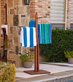 Southern Enterprise Benjamin Outdoor Towel Rack