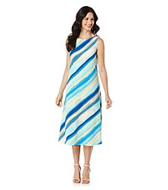 Rafaella® Diagonal Stripe Dress