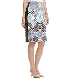 Rafaella® Printed Pencil Skirt