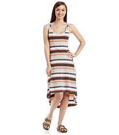 Marc New York Performance High-Low Stripe Tank Dress