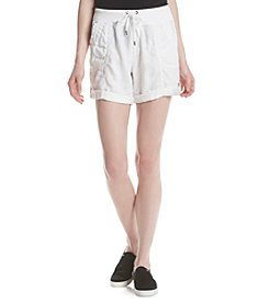 Marc New York Performance Rib Waist Drawstring Shorts