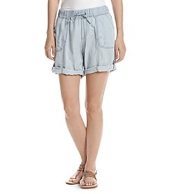 Marc New York Performance Chambray Drawstring Shorts