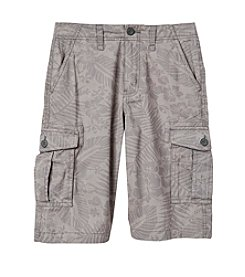 Ruff Hewn Boys' 8-20 Tropical Printed Cargo Shorts