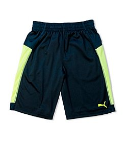 PUMA® Boys' 8-20 Colorblock Form Shorts